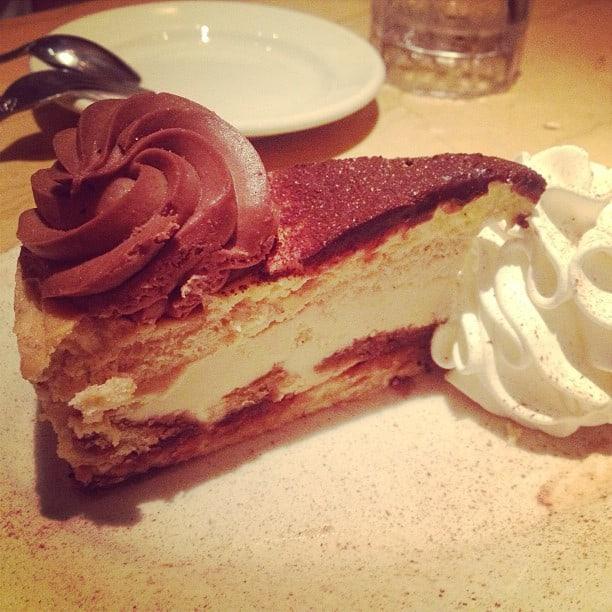 Cheesecake à la Tiramisù